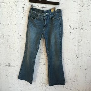 GAP LONG AND LEAN JEANS 6R